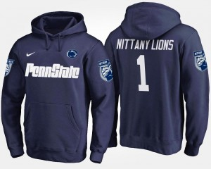 Penn State Nittany Lions Hoodie Navy #1 No.1 Men's