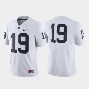 Penn State Nittany Lions Jersey Game For Men White Football #19