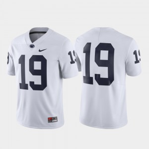 Penn State Nittany Lions Jersey #19 Limited Mens White