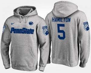 Penn State Nittany Lions DaeSean Hamilton Hoodie Gray Men #5