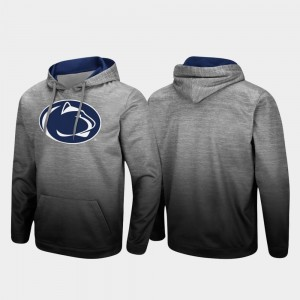 Penn State Nittany Lions Hoodie Sitwell Sublimated Heathered Gray Men Pullover