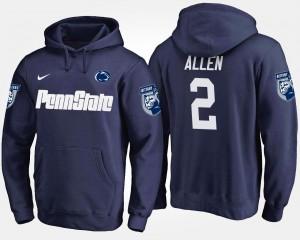 Penn State Nittany Lions Marcus Allen Hoodie #2 Navy Men's