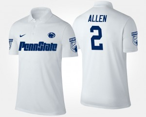 Penn State Nittany Lions Marcus Allen Polo White Mens #2