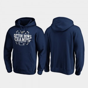 Penn State Nittany Lions Hoodie Receiver Navy Men's 2019 Cotton Bowl Champions