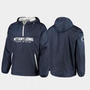 Penn State Nittany Lions Jacket Base Runner Half-Zip Men's Navy