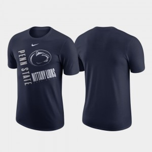 Penn State Nittany Lions T-Shirt Men Navy Just Do It Performance Cotton