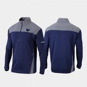 Penn State Nittany Lions Jacket Omni-Wick Standard For Men Quarter-Zip Pullover Navy