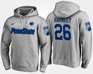 Penn State Nittany Lions Saquon Barkley Hoodie For Men #26 Gray