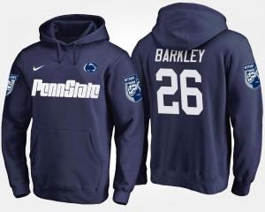 Penn State Nittany Lions Saquon Barkley Hoodie #26 Men's Navy
