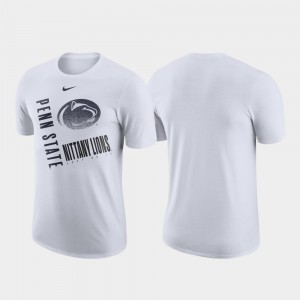 Penn State Nittany Lions T-Shirt Just Do It Performance Cotton Men White