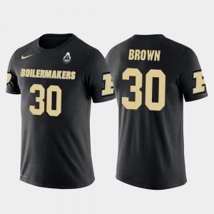 Purdue Boilermakers Anthony Brown T-Shirt #30 Black Dallas Cowboys Football Mens Future Stars