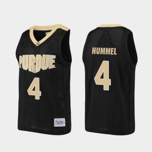 Purdue Boilermakers Robbie Hummel Jersey Basketball Mens Black Alumni #4
