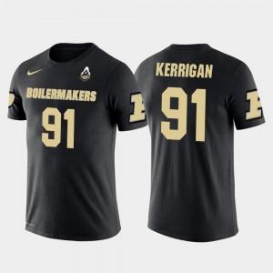 Purdue Boilermakers Ryan Kerrigan T-Shirt #91 Future Stars For Men Black Washington Redskins Football