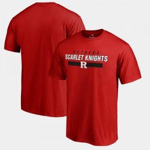 Rutgers Scarlet Knights T-Shirt Mens Scarlet Team Strong