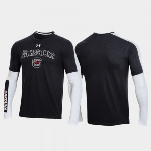 South Carolina Gamecocks T-Shirt Men's OT 2.0 Shooting Long Sleeve 2020 March Madness Black