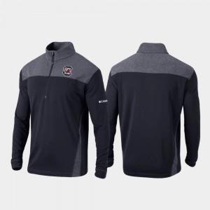 South Carolina Gamecocks Jacket Mens Black Omni-Wick Standard Quarter-Zip Pullover