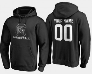 South Carolina Gamecocks Customized Hoodies Basketball - Black Men's #00