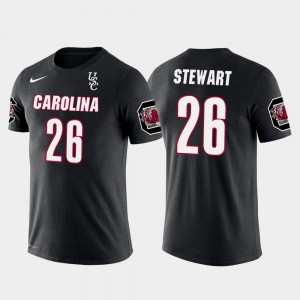 South Carolina Gamecocks Darian Stewart T-Shirt Black For Men Denver Broncos Football #26 Future Stars