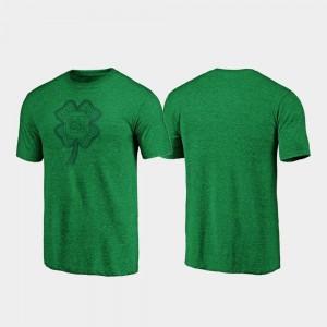 South Carolina Gamecocks T-Shirt Men's Green St. Patrick's Day Celtic Charm Tri-Blend