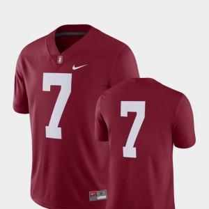 Stanford Cardinal Jersey 2018 Game #7 Cardinal Men's College Football