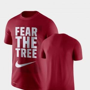 Stanford Cardinal T-Shirt Legend Franchise Mens Cardinal Performance