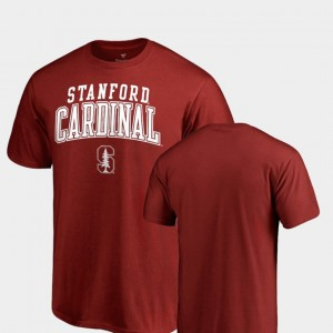 Stanford Cardinal T-Shirt Cardinal Men Square Up
