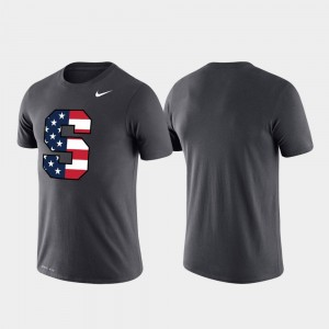 Syracuse Orange T-Shirt Performance Americana Legend Anthracite Men