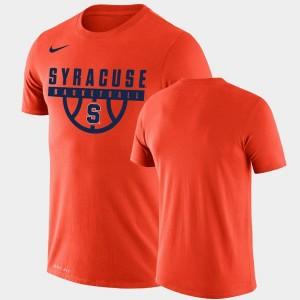 Syracuse Orange T-Shirt Men Drop Legend Orange Performance Basketball