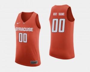 Syracuse Orange Custom Jersey #00 College Basketball Orange For Men's