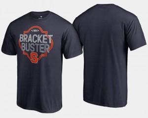 Syracuse Orange T-Shirt Men Navy Basketball Tournament 2018 March Madness Bracket Buster