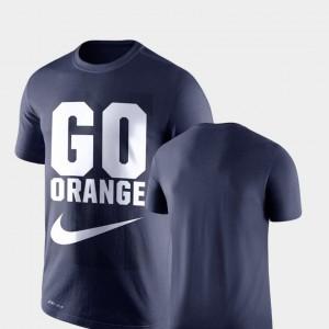 Syracuse Orange T-Shirt Navy Legend Franchise Mens Performance