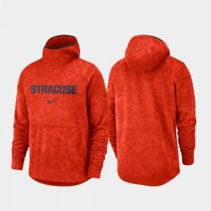 Syracuse Orange Hoodie Spotlight Mens Basketball Team Logo Pullover Orange