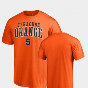 Syracuse Orange T-Shirt For Men Orange Square Up