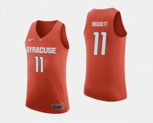 Syracuse Orange Oshae Brissett Jersey Men's College Basketball #11 Orange