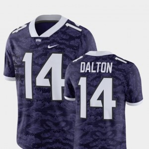 TCU Horned Frogs Andy Dalton Jersey For Men's Player Purple #14 Alumni Football Game