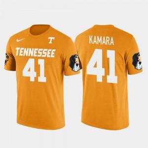 Tennessee Volunteers Alvin Kamara T-Shirt Men's New Orleans Saints Football Future Stars Orange #41