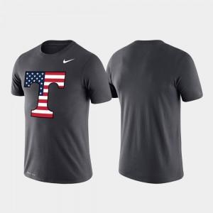 Tennessee Volunteers T-Shirt Men Americana Legend Anthracite Performance
