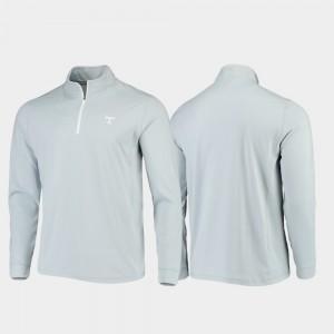 Tennessee Volunteers Jacket Gameday Men Quarter-Zip Performance Gray