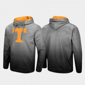 Tennessee Volunteers Hoodie Sitwell Sublimated Heathered Gray For Men's Pullover
