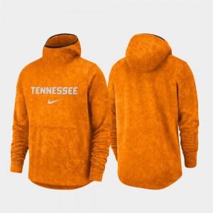 Tennessee Volunteers Hoodie Men's Spotlight Basketball Team Logo Pullover Tennessee Orange