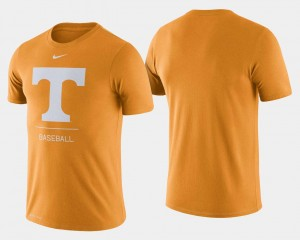Tennessee Volunteers T-Shirt For Men Dugout Performance College Baseball Tennessee Orange