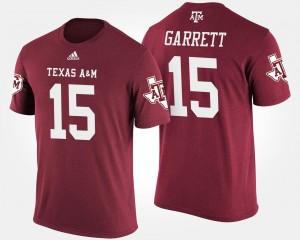 Texas A&M Aggies Myles Garrett T-Shirt Maroon Men #15