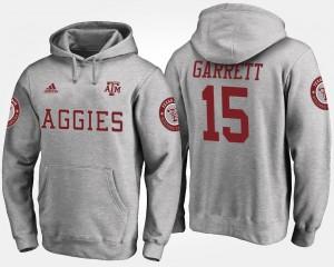 Texas A&M Aggies Myles Garrett Hoodie #15 Men Gray