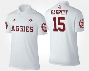 Texas A&M Aggies Myles Garrett Polo #15 Men's White