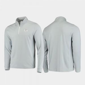 Texas A&M Aggies Jacket Gray Gameday For Men Quarter-Zip Performance