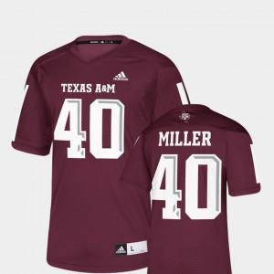 Texas A&M Aggies Von Miller Jersey Replica Maroon For Men NFLPA Alumni Chase #40