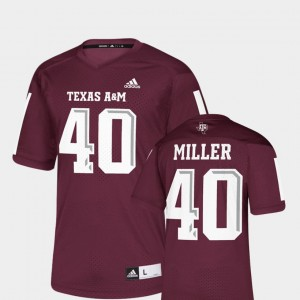 Texas A&M Aggies Von Miller Jersey Men Replica Maroon NFLPA Alumni Chase #40