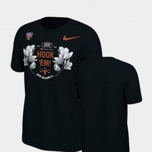 Texas Longhorns T-Shirt Verbiage For Men 2019 Sugar Bowl Bound Black