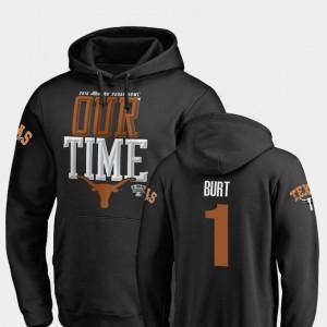 Texas Longhorns John Burt Hoodie Counter 2019 Sugar Bowl Bound Men's Black #1