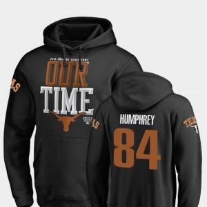 Texas Longhorns Lil'Jordan Humphrey Hoodie Black Mens 2019 Sugar Bowl Bound Counter #84
